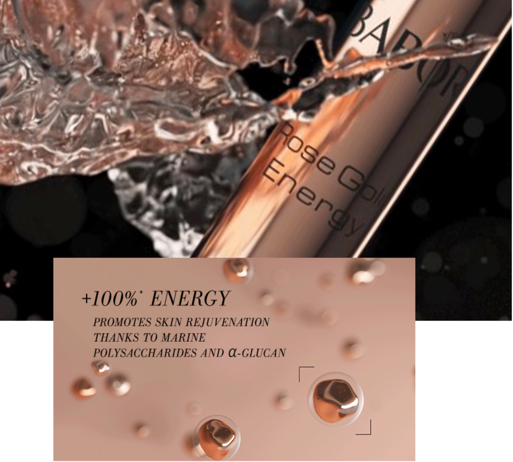 2020 AC Precious Collection Rose Gold Energy